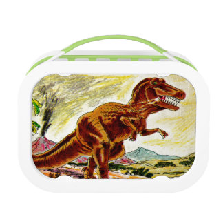 D is for Dinosaur Lunch Box