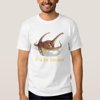 D is for Dinosaur with Alamosaurus Toddler T-Shirt