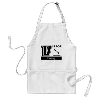 D Is For Diving Aprons