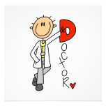 D is for Doctor Custom Invites