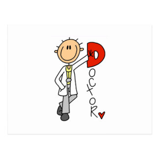D is for Doctor Postcard