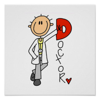 D is for Doctor Poster