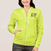 D is for Dodo Women's Bella+Canvas Full-Zip Hoodie