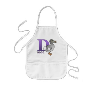D is for Dodo Kids' Apron