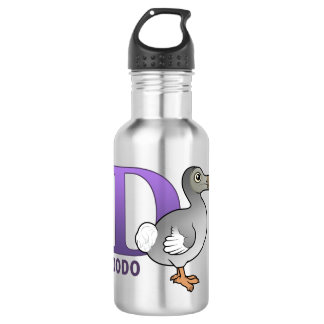 D is for Dodo Stainless Steel Water Bottle