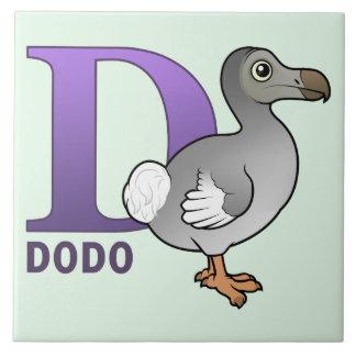 D is for Dodo Tile