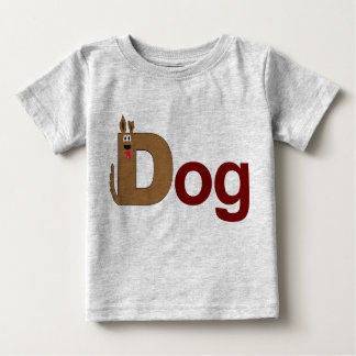D is for Dog Red Shirt