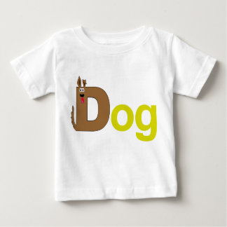 D is for Dog Yellow Shirt