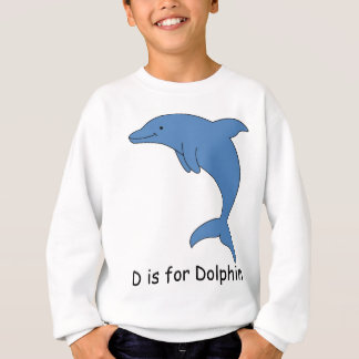 D is for Dolphin Sweatshirt
