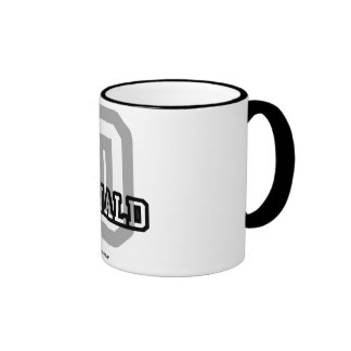 D is for Donald Coffee Mugs
