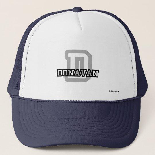 D is for Donavan Trucker Hat