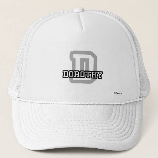 D is for Dorothy Trucker Hat