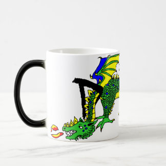 D is for Dragon Magic Mug