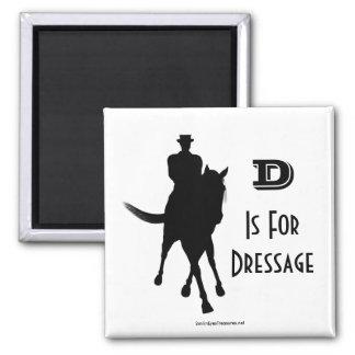 D Is For Dressage Horse Magnet