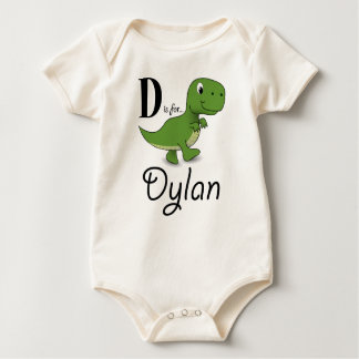 D is for Dylan Dinosaur Tee