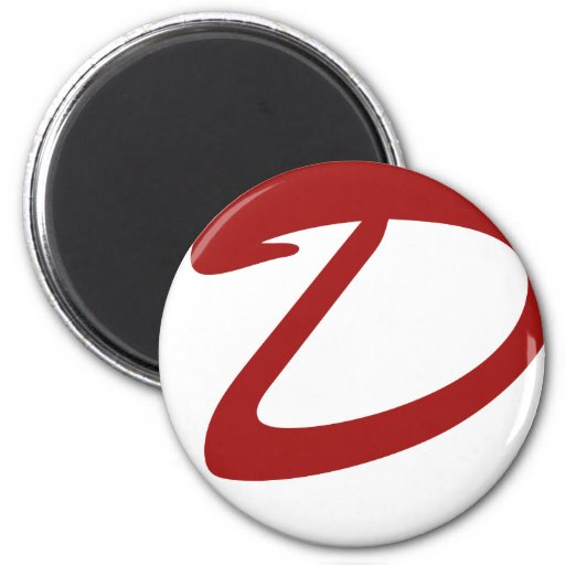 D is For Dynamite 2 Inch Round Magnet