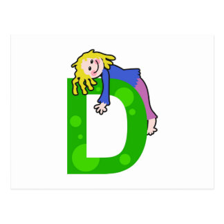 D is for..... postcard