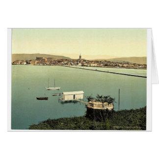 d Istria de la ceja es decir Capodistria visió Tarjeta