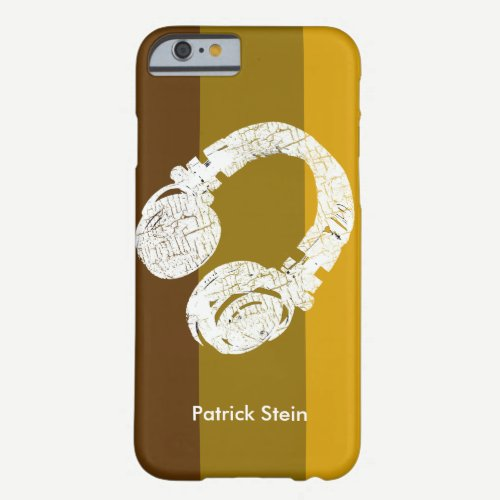 d.j./dj/deejay barely there iPhone 6 case