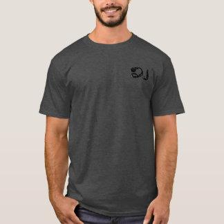 d.j. headphones music-stamp mandala T-Shirt