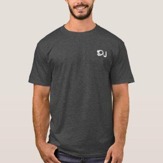 d.j. headphones music-themed mandala T-Shirt