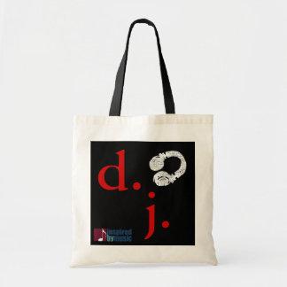 d.j. tote bag