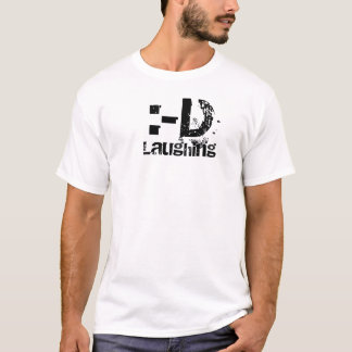 :-D, Laughing T-Shirt