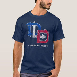 D-League Digest Acid Wash Logo T-Shirt