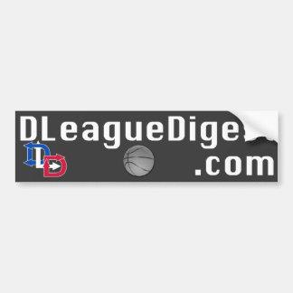 D-League Digest Bumper Sticker Car Bumper Sticker