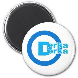 D-logo DERKA DERKA 2 Inch Round Magnet