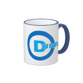 D-logo DURRR Ringer Coffee Mug