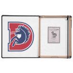 D Logo iPad Folio Cases