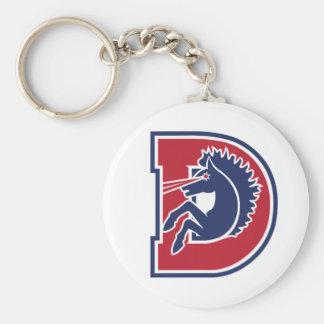 D Logo Keychains