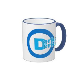 D-logotipo DERKA DERKA Tazas De Café