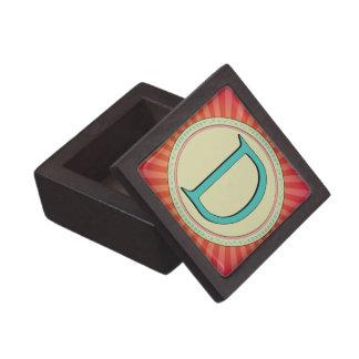 D MONOGRAM PREMIUM JEWELRY BOX