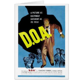 """""""D.O.A."""" Card"""