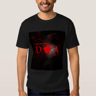 D.O.A. (Dead On Arrival) [Album Promo T-Shirt ]