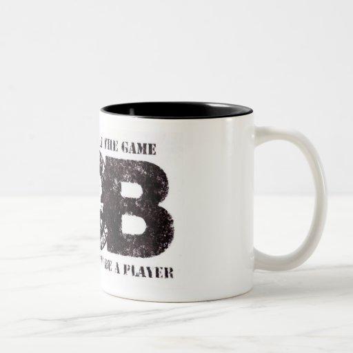 D.O.B Calls traveled COFFEE Two-Tone Coffee Mug