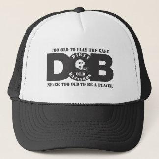 D.O.B LOGO TRUCKER HAT