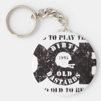 D.O.B Vintage collection Keychain
