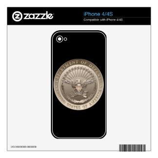 D.O.D Government Emblem Decal For The iPhone 4S