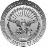D.O.D Government Emblem Photo Cut Out