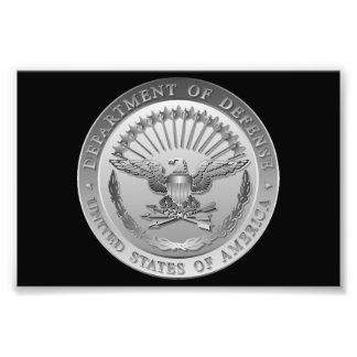 D O D Government Emblem Photo Art