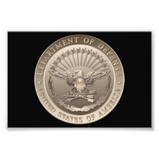 D O D Government Emblem Art Photo