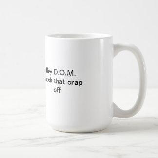 D.O.M. protection mug