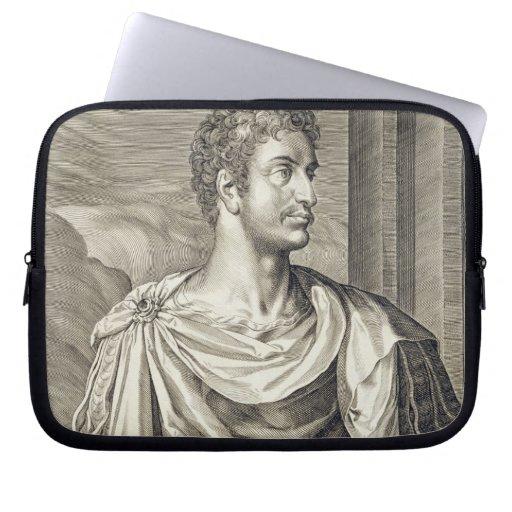D. Octavius Augustus (63 BC - 14 AD) Emperor of Ro Laptop Sleeve