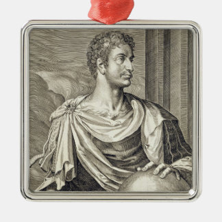 D. Octavius Augustus (63 BC - 14 AD) Emperor of Ro Metal Ornament