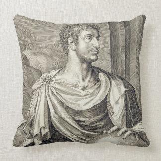D. Octavius Augustus (63 BC - 14 AD) Emperor of Ro Throw Pillow