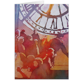 D Orsay Cafe Greeting Card
