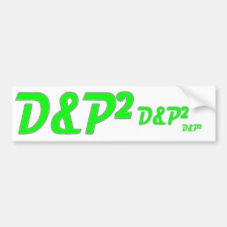 D&P stickers Bumper Stickers